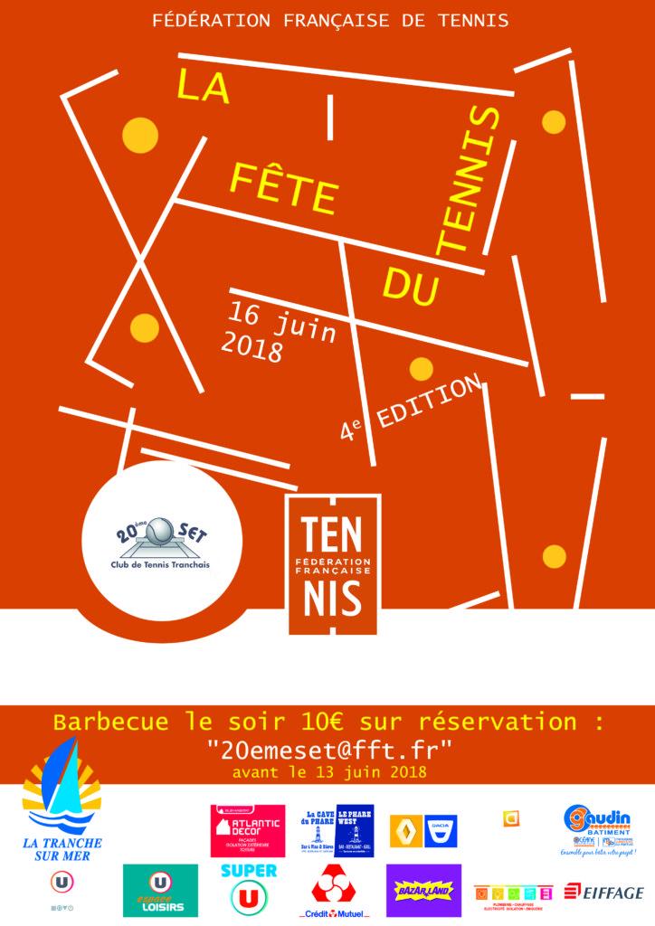 Affiche Fête Du Tennis 2018 2